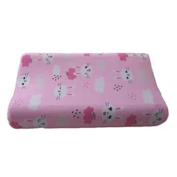 蕊丝坊/RIOUS 儿童乳胶枕 柔软舒适,呵护颈椎 混色 25*45cm