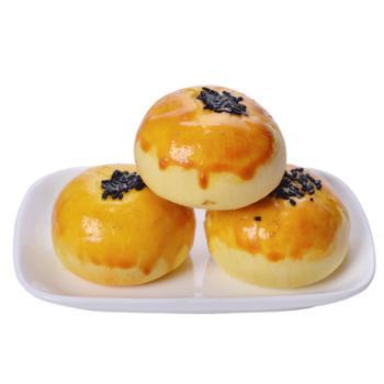金黄记 红豆味雪媚娘麻薯新鲜蛋黄酥 6枚装