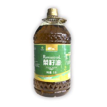 陇象 甘肃庆阳 冷榨优质菜籽油 5L