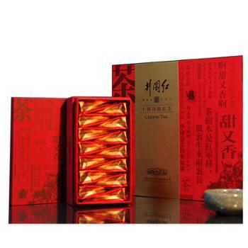 井冈红将军一号特级红茶高端木盒铁罐60g