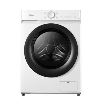 美的/Midea10公斤滚筒洗衣机MG100V11D/白色