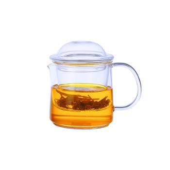 海畅公道雅致家用过滤玻璃茶壶茶具茶杯250ml
