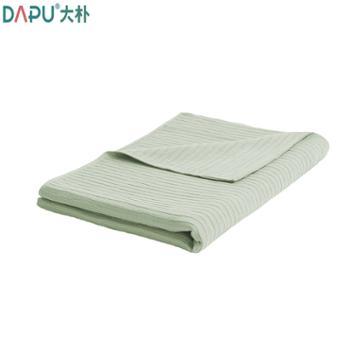 大朴毯子A类棉麻褶皱毛巾被薄被