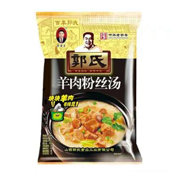 郭国芳羊肉粉丝汤袋装原味120g*8袋