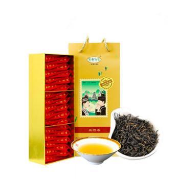 侗美仙池特级侗乡红浓香型茶叶红茶150g礼盒装