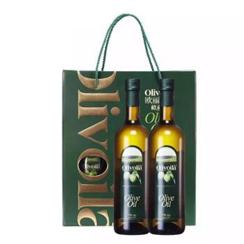 欧丽薇兰 橄榄油 礼盒 750ml*2瓶 /件