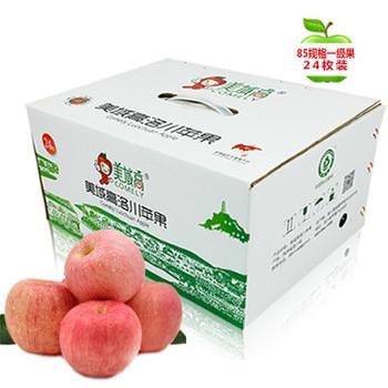 美域高 洛川苹果 24枚85果