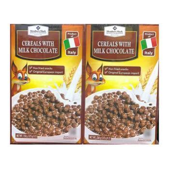 Member'sMark意大利进口牛奶巧克力谷物球(冲调谷物制品)375g*4*2