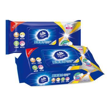 维达 厨房湿巾(48片)*3包