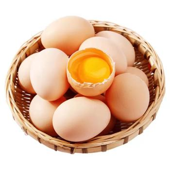 鲜果果 农家散养鲜鸡蛋 40枚