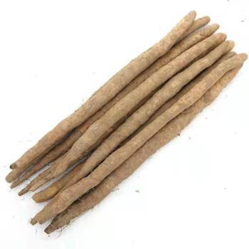 鲜果果 铁棍麻山药 5斤装(约50-65cm)