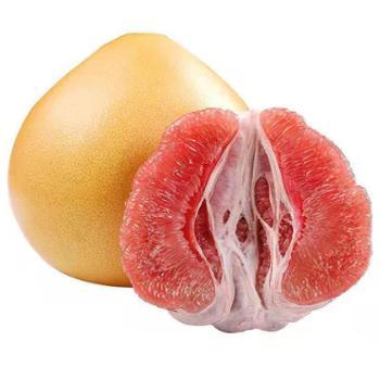 鲜果果 三红蜜柚 2个装(4.5-5斤)