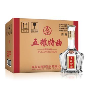 五粮液股份五粮特曲(陈酿)浓香型52度500mlX6瓶