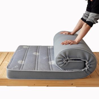 鹿宝宝新款针织乳胶海绵款床垫-学生款0.9m1.0m