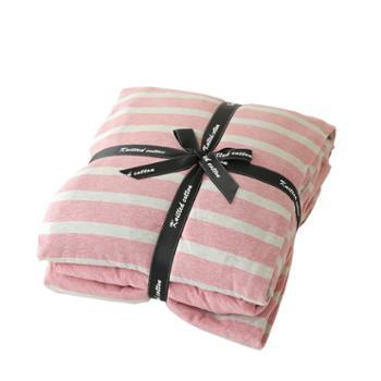鹿宝宝拼接款天竺棉四件套床笠款1.8m床单款被套200*230
