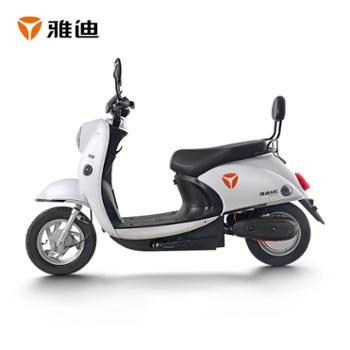 雅迪新款米果60V小龟王电动轻便摩托车