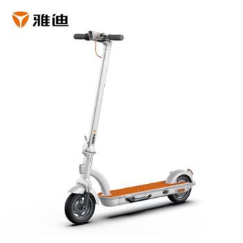 雅迪新款H1电动时尚滑板车